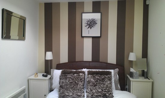 City Apartments York: Our Double Bedroom at No.1 Reubens Court