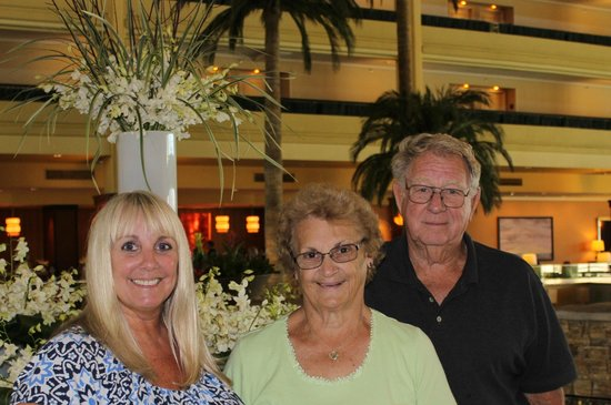Mikado at Desert Springs JW Marriott: Me, Mom & Dad enjoying our time at the JW Marriott.
