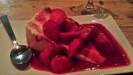Favela Chic : Cheese cake fraise