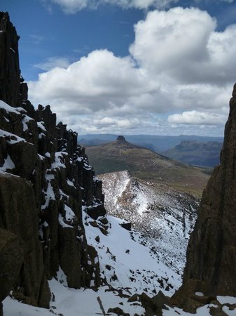 Cradle Mountain Huts: Mt Ossa climb