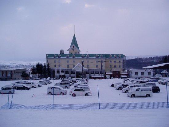 Hotel Naturwald Furano : スキー場からのアクセス