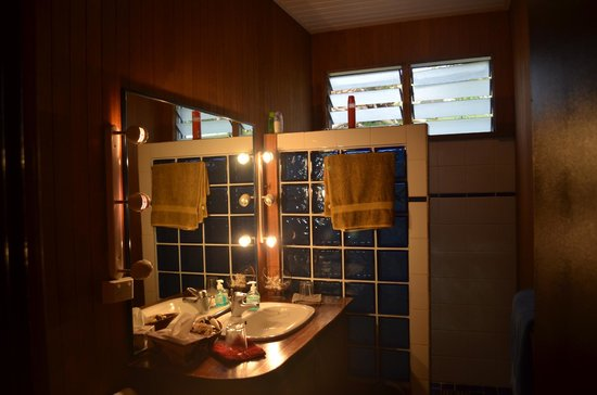 La Maison Bleue: Great bathroom!