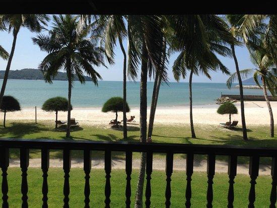 Meritus Pelangi Beach Resort Spa Langkawi View From The Room S Balcony