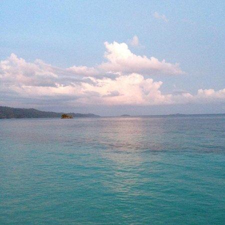 Raja Ampat Biodiversity Resort: Sunset
