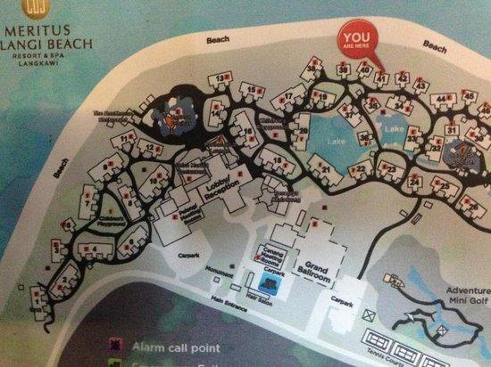 Meritus Pelangi Beach Resort Spa Langkawi The Map Available Throughout