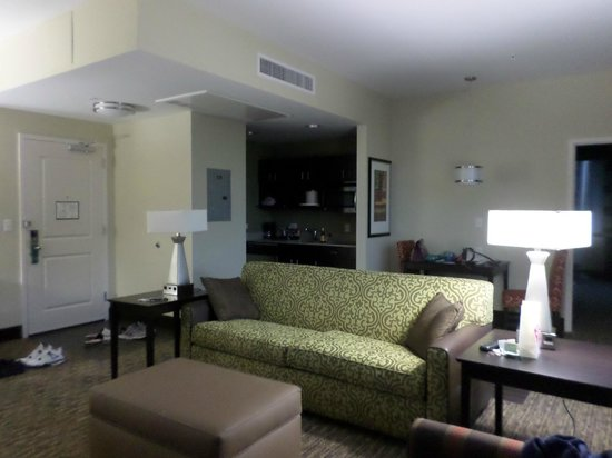 Homewood Suites by Hilton Dallas Downtown: Just a pic of the living room
