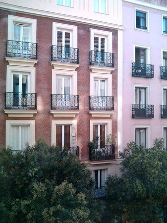 Ibis Madrid Centro : Vista do apartamento - segundo andar.