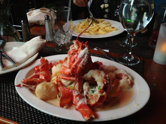 Dolce Vita : my son told franco he liked lobster and scallops and this is what he got. amazing