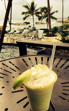 Marriott Ko Olina Beach Club: Key Lime Kolada...best drink ever w/great service!