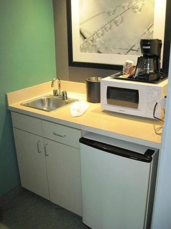 SpringHill Suites Miami Airport South: Micro-ondas