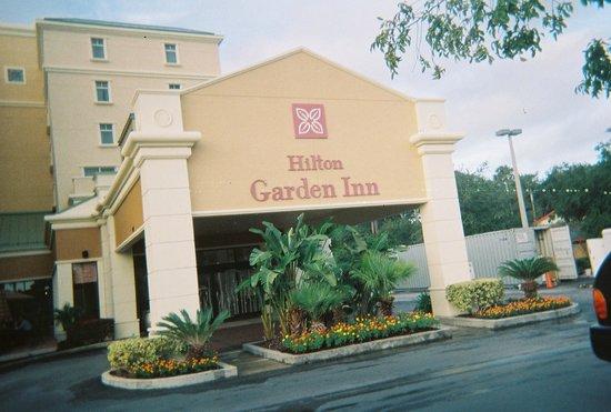 Hilton Garden Inn Jacksonville / Ponte Vedra : Main entrance
