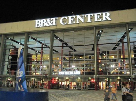 BB&T Center: Entrada