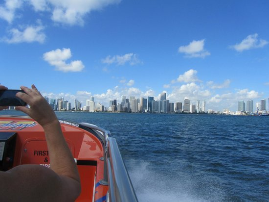 Thriller Miami Speedboat Adventures: Downtown