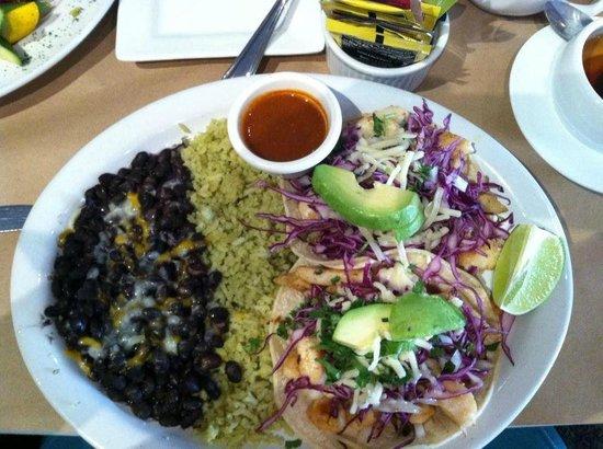 Cascada: Fish tacos