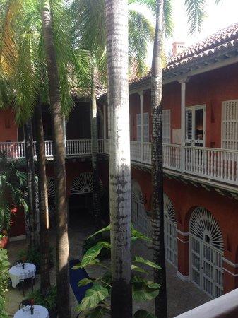 Casa Pestagua Hotel Boutique, Spa : Patio interior