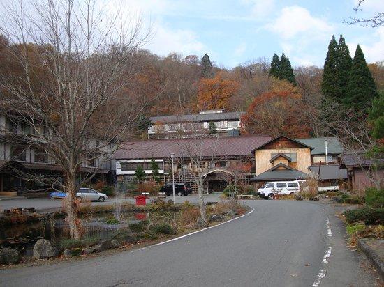 Tsuta Onsen Ryokan: 紅葉の蔦温泉旅館