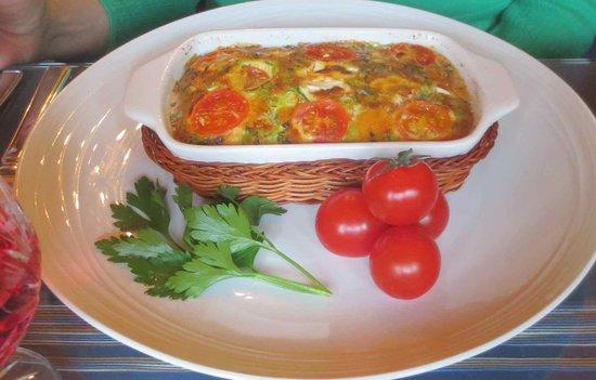 AmarAgua Guest House: One breakfast choice