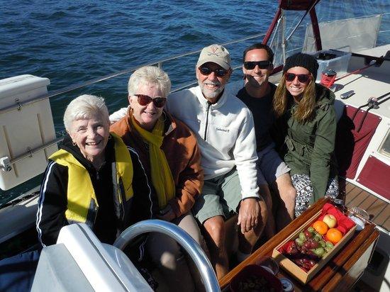 Central Coast Sailing Charters : Sailing Trip