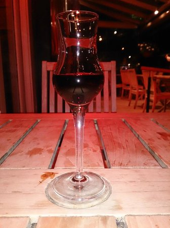 Piccolino: A nice drop of Port to finish it off with