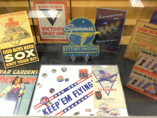 WWII Memorabilia on display - Picture of National Museum of