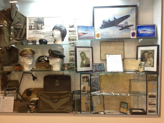 National Museum of World War II Aviation: WWII Memorabilia on display