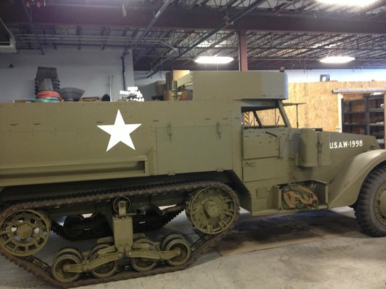 National Museum of World War II Aviation: Half-Track