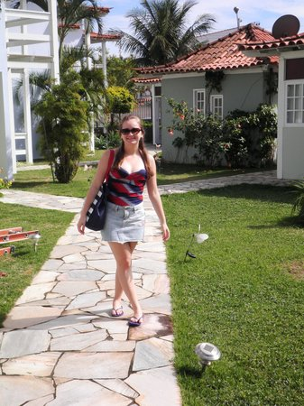 Pousada Paraiso do Atlantico: Jardim