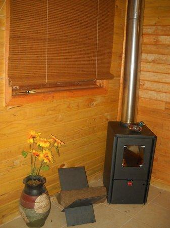 Cabanas Nativa: calefaccion