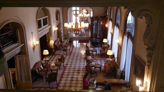 Regina Hotel: Vista do Mezanino