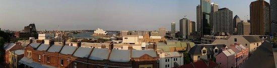 Sydney Harbour YHA: Vistas desde la terraza