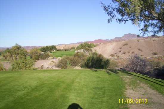 Emerald Canyon Golf Course: Hole # 15 better hit it long !