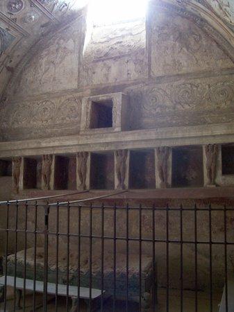 The Forum Baths: The Tepidarium