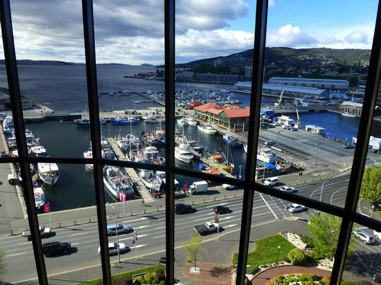 Grand Chancellor Hotel Hobart: View from our 18th floor.