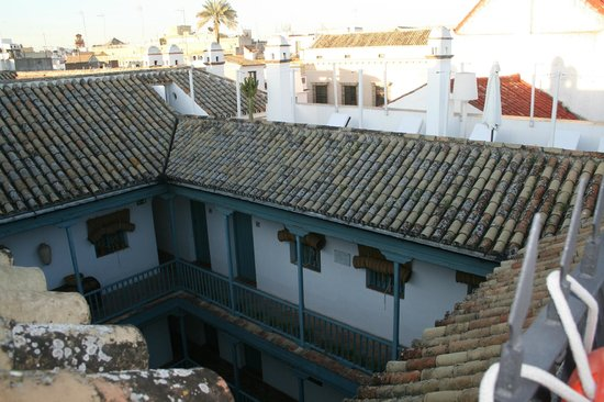 Hospes Las Casas del Rey de Baeza Sevilla: Vista hacia el patio central