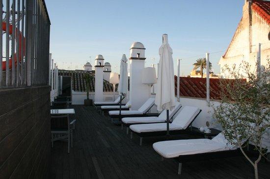 Hospes Las Casas del Rey de Baeza Sevilla: Solarium