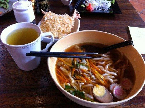 Tokyo Connection: Ebi Furai Udon with Soyu Soup