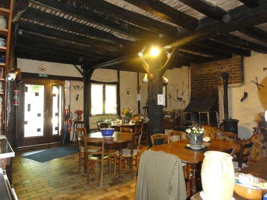 La Marechalerie: Bfast, dining area
