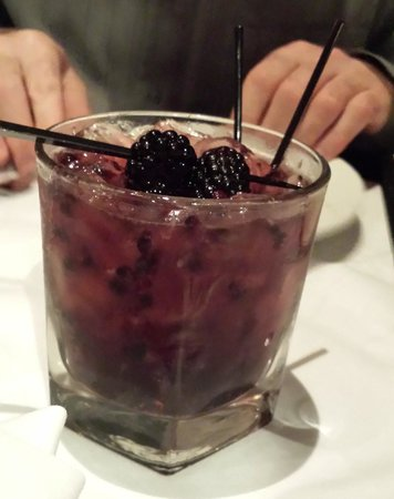 Ruth's Chris Steak House: Blackberry Sidecar