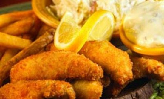Mackinaw's Grill & Spirits : Great Lakes Perch