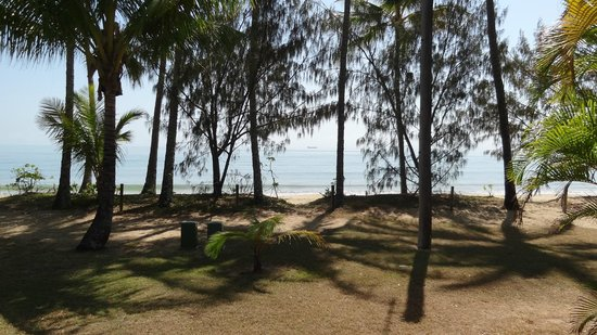 Ellis Beach Oceanfront Bungalows: View from front porch