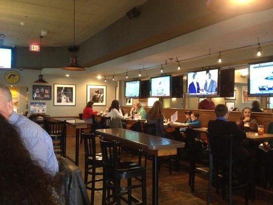 The Distillery: Bar room