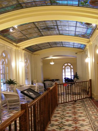 Fordyce Bathhouse (Vistor Center): Loved the stained glass!