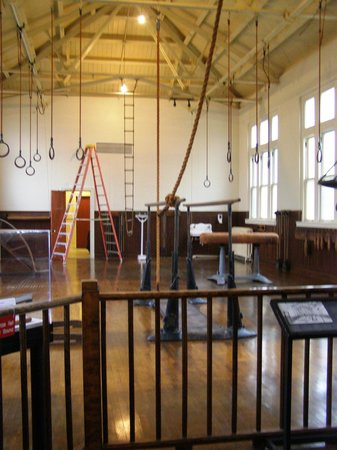Fordyce Bathhouse (Vistor Center): The gym was huge.