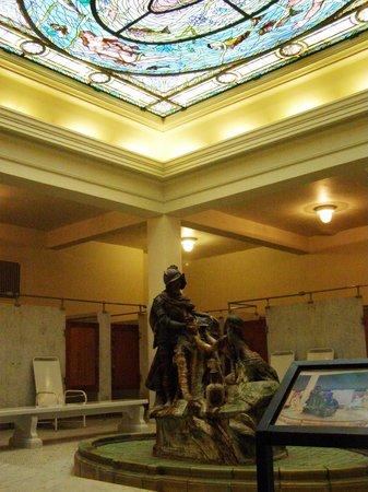 Fordyce Bathhouse (Vistor Center): Men's baths.