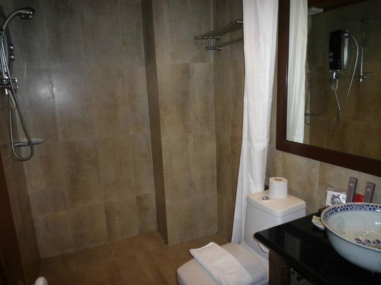 ANGGUN BOUTIQUE HOTEL : Shower - very clean