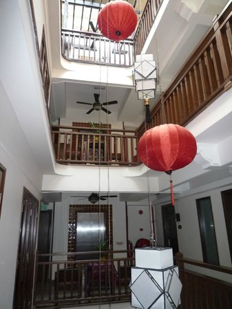 ANGGUN BOUTIQUE HOTEL : Internal light-well