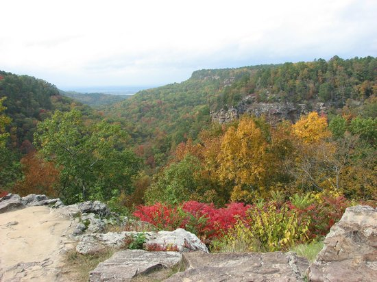 Mather Lodge: Autumn Beauty at Petit Jean
