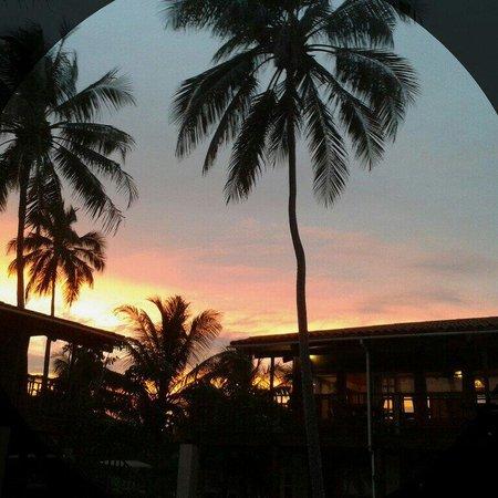Sunset at Ambergris Divers Resort