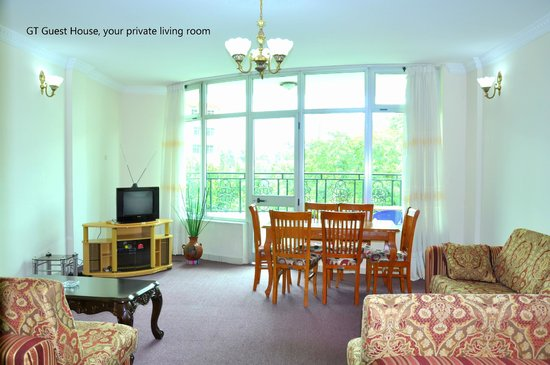 GT Guest House & Apartments: Your private Living room