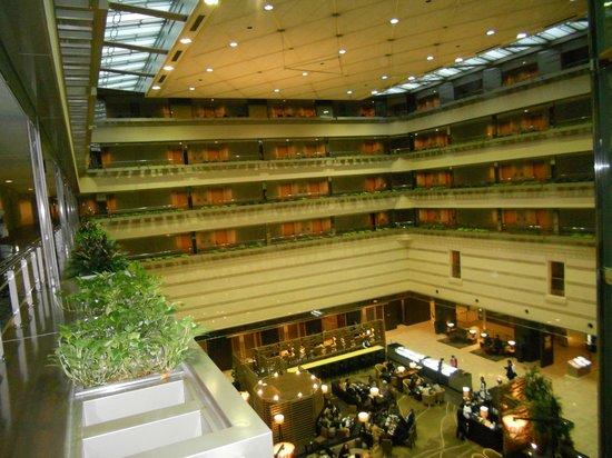 Kyoto Brighton Hotel: Vue des etages